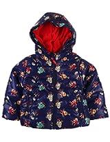 Infant Boys Jacket With Print - Multi Colour (18 - 24 Months)