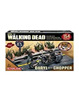 Walking Dead Tv Daryl Dixon With Chopper Building Set By Mc Farlane