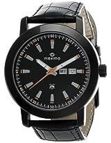Maxima Attivo Analog Black Dial Men's Watch - 25261LMGB