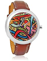 Afw0000468 Brown/Multi Analog Watch Foster's