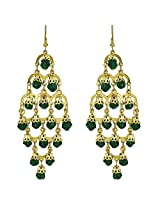Shalinindia Resin Dangle & Drop Earring For Women (Green)