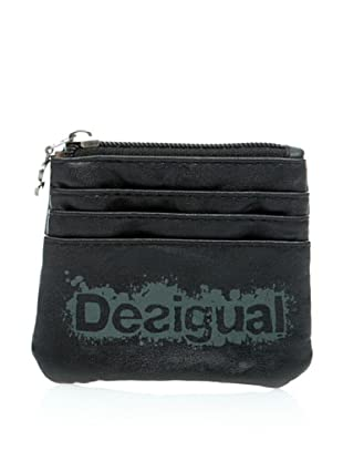 Desigual Monedero Dsgl (Negro Estampado)