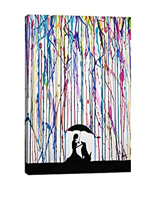 Marc Allante Sempre Gallery Wrapped Canvas Print