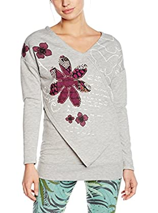 Desigual Camiseta Manga Larga Soft Rep