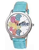 Elite Analog Multi-Color Dial Women's Watch - E52982/003