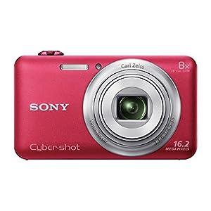 Sony Cybershot DSC-WX80/R 16.2MP Digital Camera (Red)