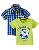 Baby League Baby Boys' Clothing Set (Pack of 2)