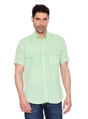 Pedro del Hierro Camisa Lino (Verde)