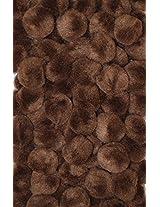 """Creativity Street Pom Pons 100-Piece x 1/2"""" Brown"""