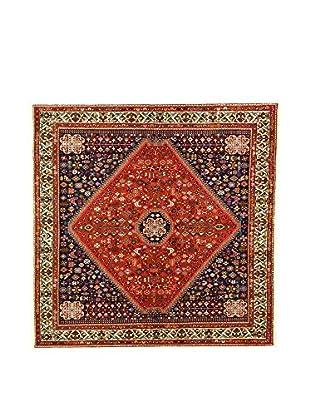 L'Eden del Tappeto Teppich Abadeh rot/blau 198t x t198 cm
