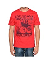 Being Muslim Red T-Shirt for Men