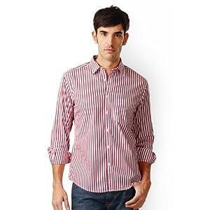 Full Sleeves Striped Slim Fit Shirt