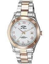 Rotary Analog White Dial Men's Watch-GB0815201