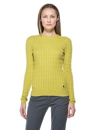 Fairly Pullover Rundhals (Pistazie)