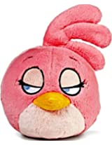 Angry Birds Plush 8-Inch Girl Pink Bird with Sound