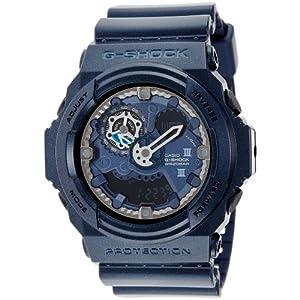 Casio G-Shock Analog-Digital Blue Dial Men's Watch - GA-300A-2ADR (G439)