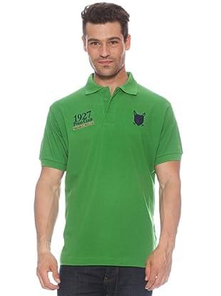 Polo Club Polo manga corta Escudo & Date (Verde)