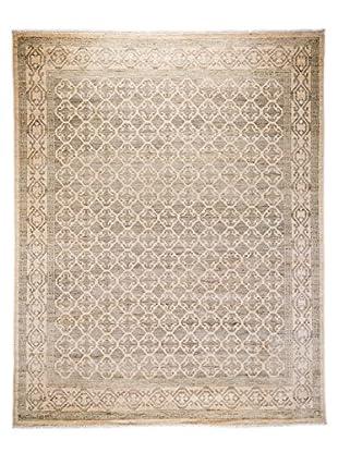 Darya Rugs Khotan Oriental Rug, Silver, 7' 10