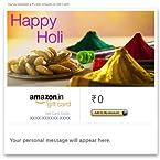 Happy Holi (Gujiya) - E-mail Amazon.in Gift Card