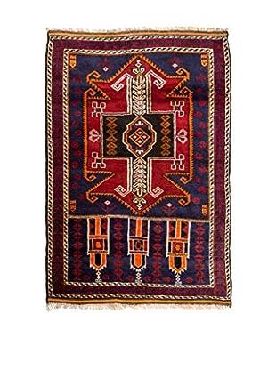 RugSense Alfombra Belucistan Rojo/Multicolor