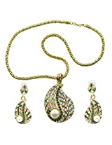 """Aakshi Necklace Set """"Dil Tumpe Aaya Re"""" White Pearl Necklace Set"""