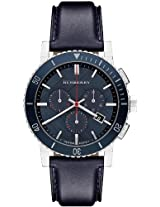Burberry Leather Chronograph Mens Watch Bu9383