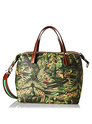 Borbonese Bolso asa de mano 90K Graffiti Jungle