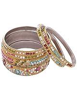 Aakhi Shagun Pretty Look 6 piece Bangles for Women