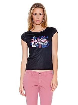Pepe Jeans London Camiseta Hardie (Negro)