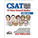 CSAT Topic-wise Solved Papers: 19 Years General Studies 1995 - 2013 price comparison at Flipkart, Amazon, Crossword, Uread, Bookadda, Landmark, Homeshop18