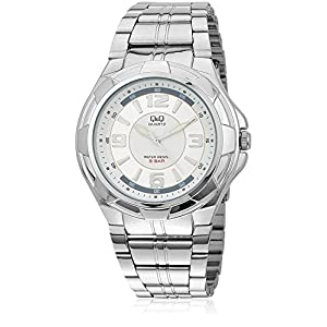 Q&Q Analog White Dial Men's Watch - Q252N204Y