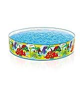 Intex Dino Snapset Pool, Multi Color (4 feet x 10 inch)