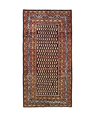 L'Eden del Tappeto Teppich M.Serabend blau/beige 310t x t155 cm