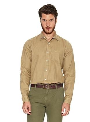 Dockers Camisa Lino (Tostado)