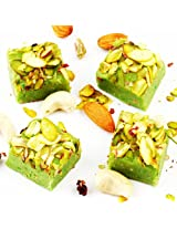 Ghasitarams Gifts Sweets Pistachio Squares 800 gms