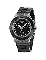 Swatch Full-Blooded Night SVCK4035AG Chronograph Watch - For Men