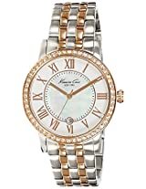 Kenneth Cole Analog Silver Dial Women's Watch - IKC4972