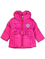 Infant Girls Jacket, Pink (0-6 Months)