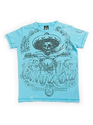 Scorpion Bay Camiseta Calavera (Azul)