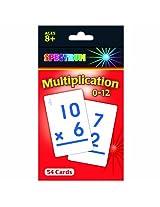 Carson Dellosa CD-734008 Spectrum Flash Cards Multiplication