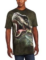 The Mountain Men's T Rex Roar T-Shirt, Green, Small
