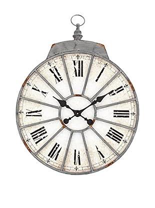 Contemporary Living Reloj De Pared Roma Metal