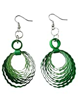 Designer's Collection Paper Quilling Ear Rings for Women-DSERC003_B