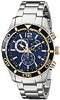 Nautica Men's NAD18500G NST 09 Analog Display Japanese Quartz Silver Watch