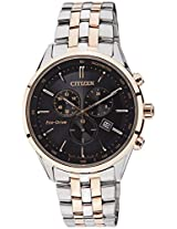 Citizen Eco-Drive Analog Black Dial Men's Watch - AT2144-54E