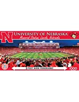 Master Pieces Ncaa Nebraska Cornhuskers Stadium Panoramic Jigsaw Puzzle, 1000 Piece By Master Pieces