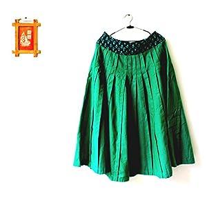 The Sewing Machine Fresh Green Kali Skirt