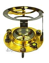 West London Anchor Symbol Golden Nautical Poem Sundial Compass Antique Vintage Reproduction