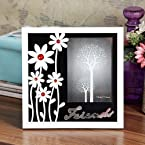 FabFurnish Accents Friends Flowers Photo Frame