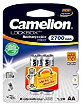 Camelion LB NH-AA2700LBP2 Rechargeable Battery